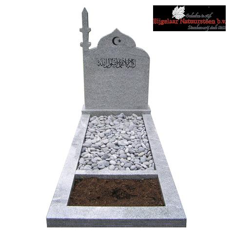 Islamitisch grafmonument, islamitische grafstenen