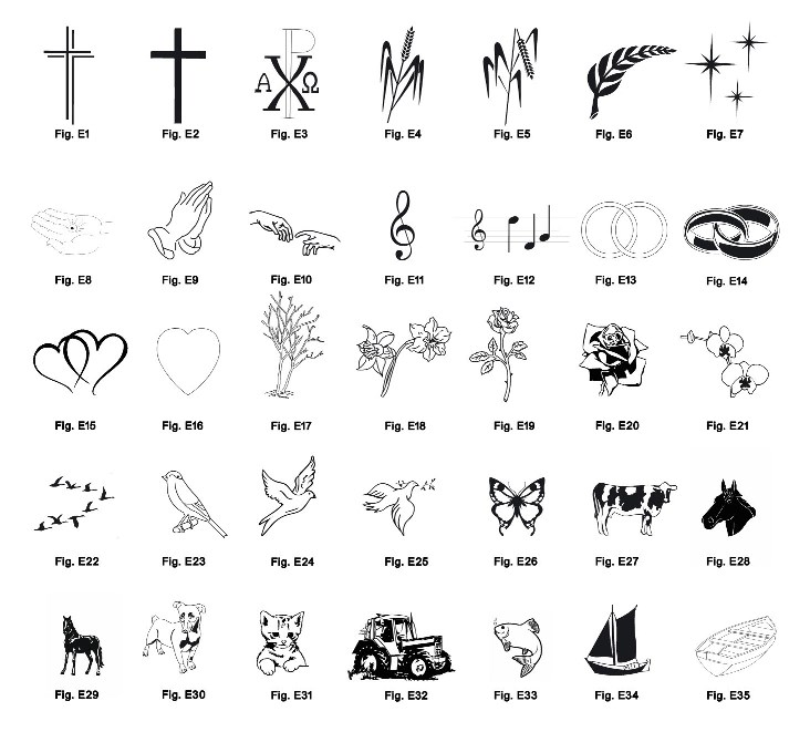 Voorbeelden van figuraties