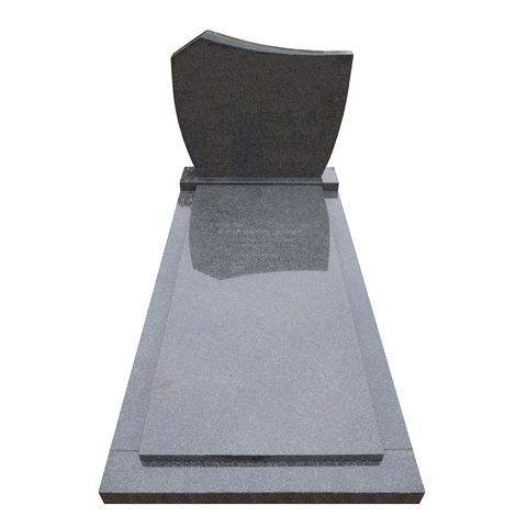 Goedkope grafsteen impala met dekplaat