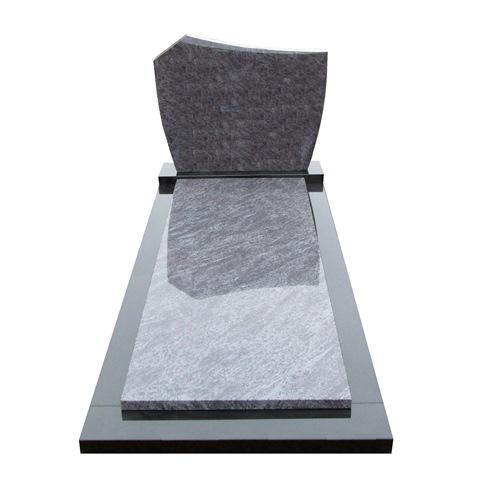 Goedkope grafsteen zwart graniet met orion