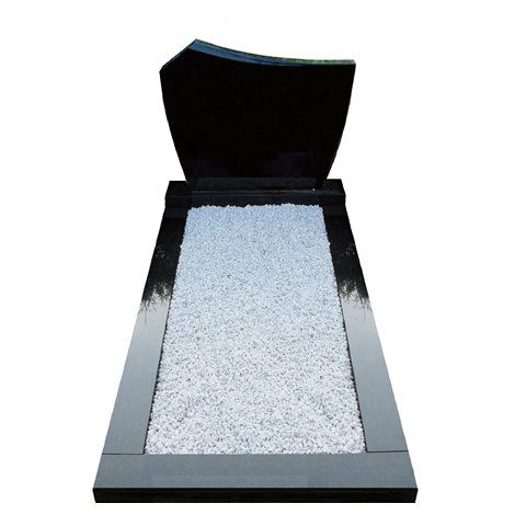 Goedkope grafsteen zwart graniet
