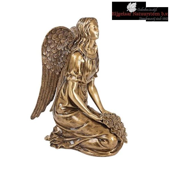 Bronzen Engelen Beelden.Engelen Beelden Van Brons Voor Op Een Grafsteen