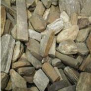 stukjes versteend hout