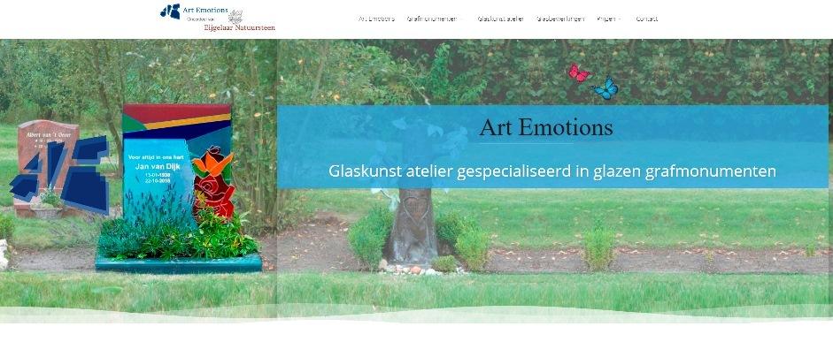 Art Emotions Barneveld - specialist in glazen grafmonumenten
