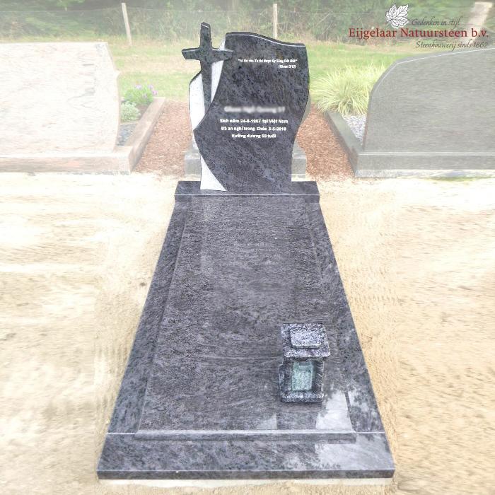 grafsteen kruis orion graniet