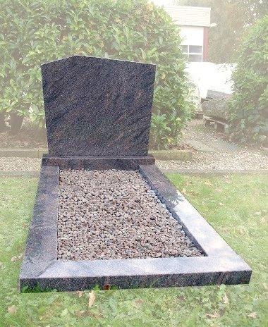 Goedkope grafsteen zonder dekplaat voor regio Rotterdam