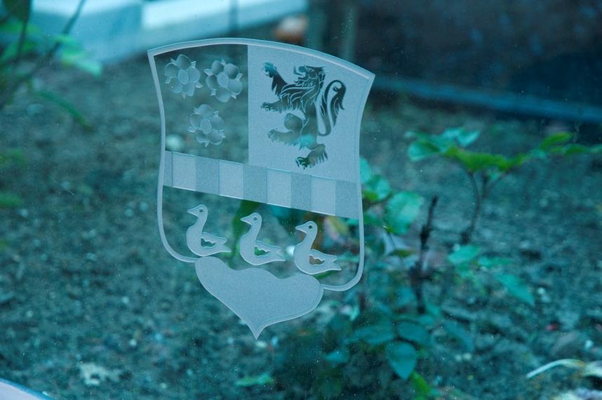 Glazen grafmonument