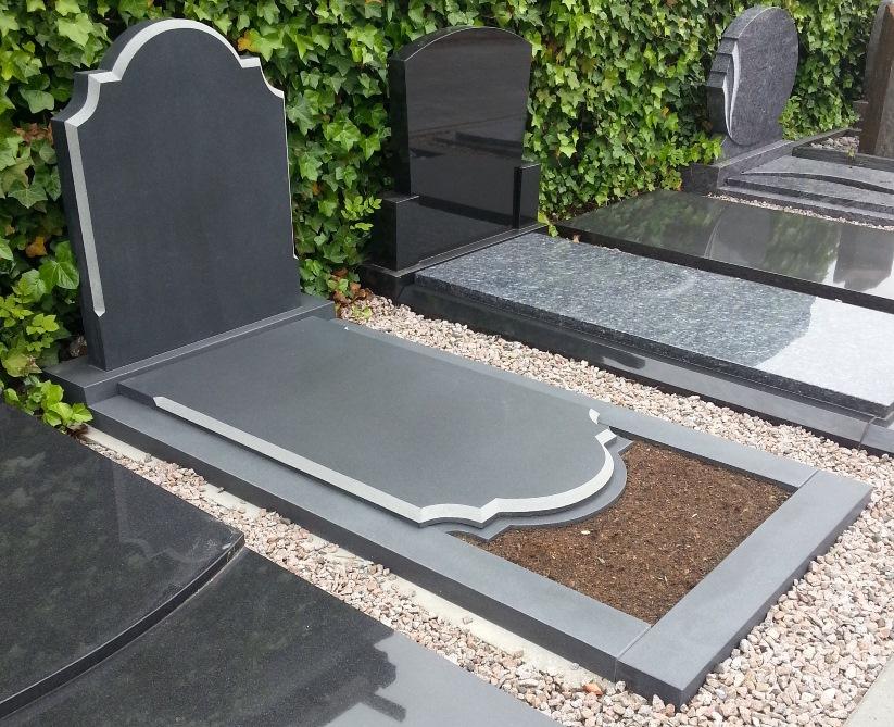 grafsteen plaatsen