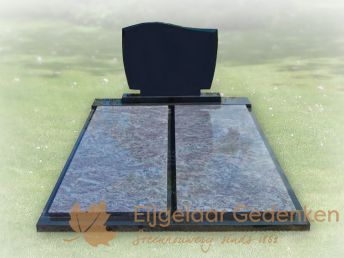 Dubbel grafmonument voor familiegraf 001